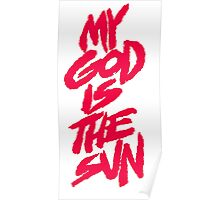 queens of the stone age-my god is the sun Poster