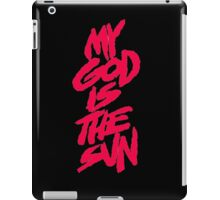 queens of the stone age-my god is the sun iPad Case/Skin
