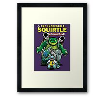 The Incredible Squirtle Framed Print