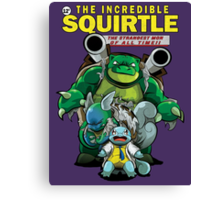 The Incredible Squirtle Canvas Print