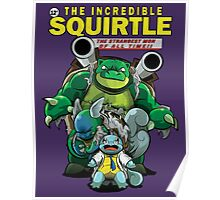 The Incredible Squirtle Poster