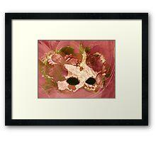 Rose Facade Framed Print