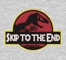 Skip to the End - Jurassic Park Kids Tee
