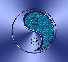 Libra & Dog Yang Water by astrodesigner75