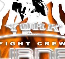 new york fight crew Sticker