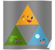 Pokemon Triforce Poster