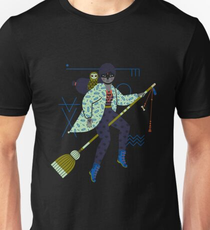 Witch Series: Broomstick Unisex T-Shirt