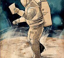Astronaut Edgar Mitchell NASA by lynxcollection