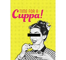 Time For a Cuppa! Photographic Print