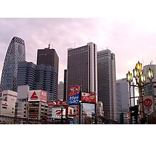 Downtown Tokyo Photographic Print