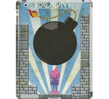 Bomberman Art Deco Style iPad Case/Skin