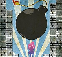 Bomberman Art Deco Style by Firenutdesign