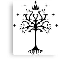 white tree of gondor Canvas Print