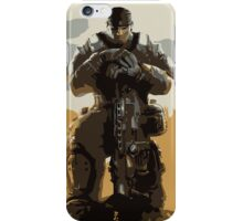 Marcus Fenix Gears of War 3 iPhone Case/Skin