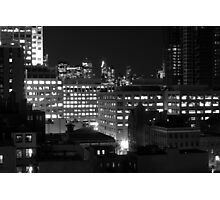 A view of new york city from exchange place, Jersey City Photographic Print