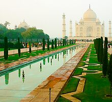 Taj Mahal-Symbol of Love by Mukesh Srivastava