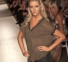 Model at LiveStyle Festival 2009 by Keith Vaz