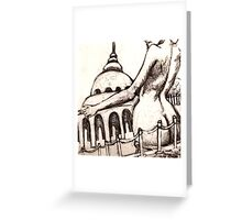 Capital Assets Greeting Card
