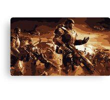 Marcus Fenix Gears of War 2 Canvas Print