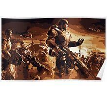 Marcus Fenix Gears of War 2 Poster