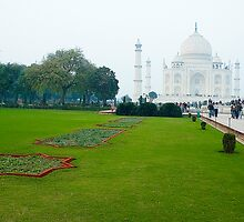 Taj Mahal-The White Beauty by Mukesh Srivastava