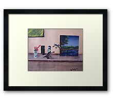 Into Reality Framed Print