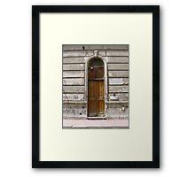 Doorways BA Argentina Framed Print