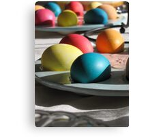 easter eggs... Canvas Print