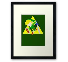 Super Smash Bros Toon Link Framed Print