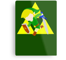 Super Smash Bros Toon Link Metal Print
