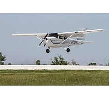 Cessna 172 Landing Photographic Print