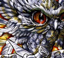 PRUNO SKATEBOARDS OWL  logo Sticker