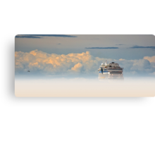 Heavenly Cruise Canvas Print