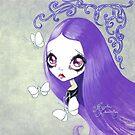 Goth Girl: Violeta by TenshiNoYume