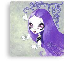 Goth Girl: Violeta Canvas Print