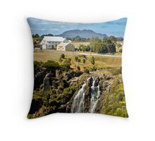 WARATAH FALLS, TASMANIA Throw Pillow