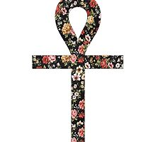 Ankh Floral by Telic