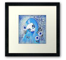 Goth Girl: Christine Framed Print