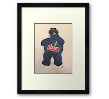 Cookies are Dope Framed Print