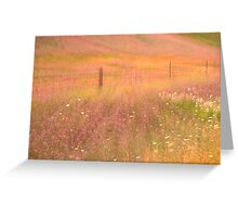 Pastoral Reverie Greeting Card