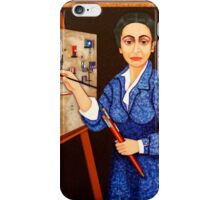 M. Helena Vieira da Silva - The dialogue between abstraction and figuration iPhone Case/Skin