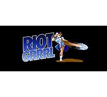Riot grrrl Photographic Print