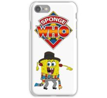 Sponge Who iPhone Case/Skin