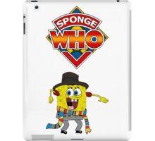 Sponge Who iPad Case/Skin