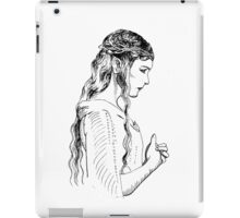 Galadriel, most beautiful of all the house of Finwe.  iPad Case/Skin