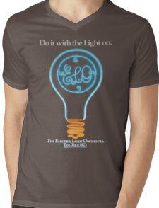 E.L.O. Tour 1973 Mens V-Neck T-Shirt