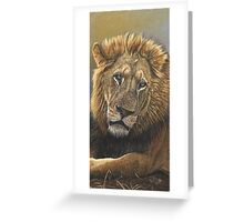 King's Reflection Greeting Card