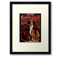 Wild West Outlaws Cowboy Design Framed Print