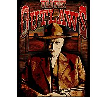 Wild West Outlaws Cowboy Design Photographic Print