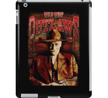 Wild West Outlaws Cowboy Design iPad Case/Skin